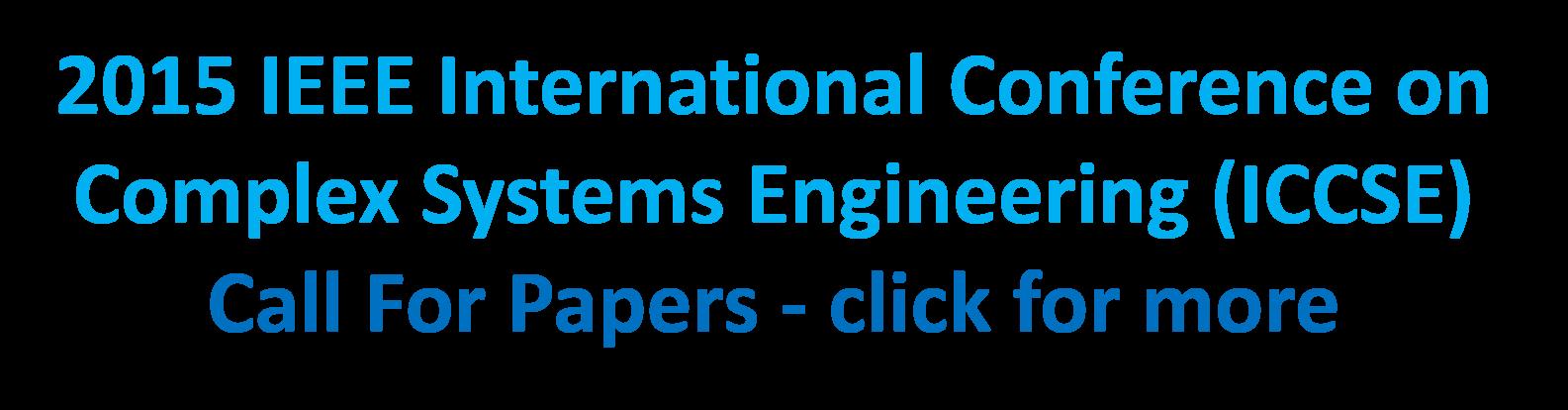 2015 IEEE ICCSE